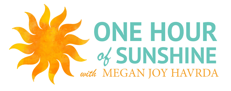 One Hour of Sunshine with Megan Havrda logo